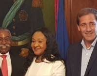 Signature d'un accord de jumelage entre les municipalités de la Plata en Argentine et Tabarre de la République d'Haïti