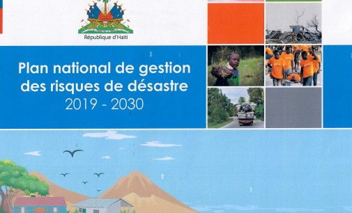 Plan national de gestion des risques et de Désastres 2019-2030.